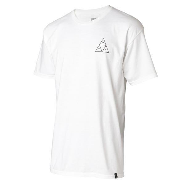 【即納】ハフ HUF メンズ Tシャツ トップス TRIPLE TRIANGLE TEE WHITE|fermart