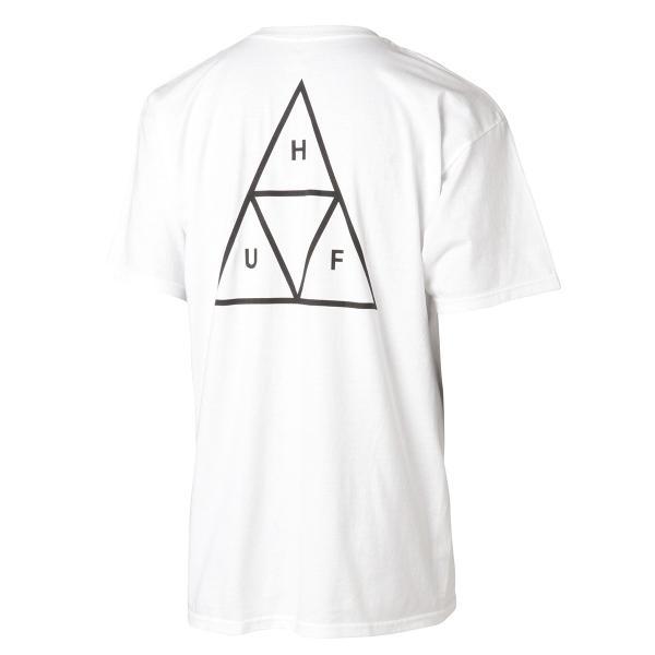 【即納】ハフ HUF メンズ Tシャツ トップス TRIPLE TRIANGLE TEE WHITE|fermart|02
