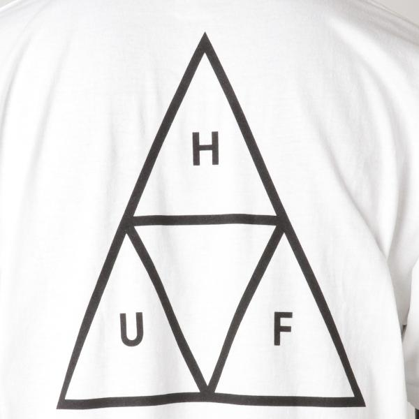 【即納】ハフ HUF メンズ Tシャツ トップス TRIPLE TRIANGLE TEE WHITE|fermart|03