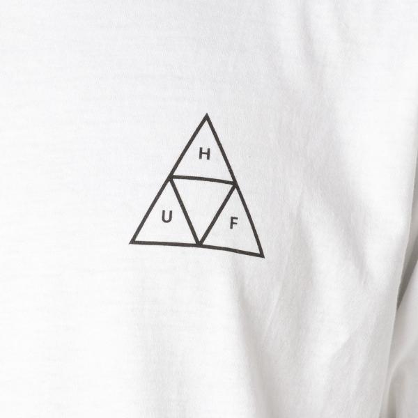 【即納】ハフ HUF メンズ Tシャツ トップス TRIPLE TRIANGLE TEE WHITE|fermart|04