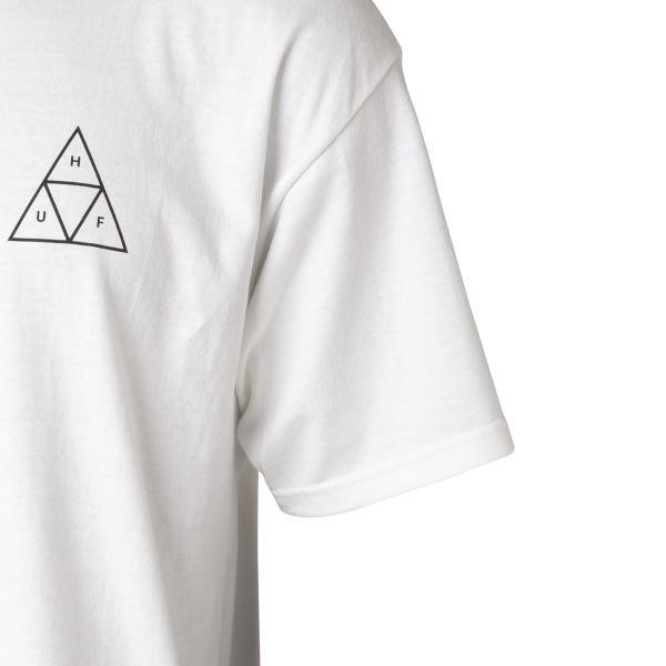 【即納】ハフ HUF メンズ Tシャツ トップス TRIPLE TRIANGLE TEE WHITE|fermart|05