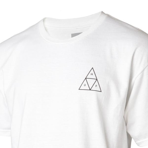 【即納】ハフ HUF メンズ Tシャツ トップス TRIPLE TRIANGLE TEE WHITE|fermart|06