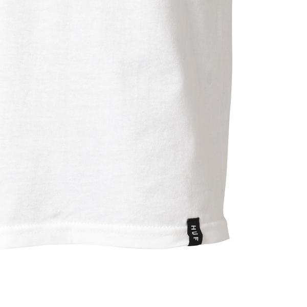 【即納】ハフ HUF メンズ Tシャツ トップス TRIPLE TRIANGLE TEE WHITE|fermart|07