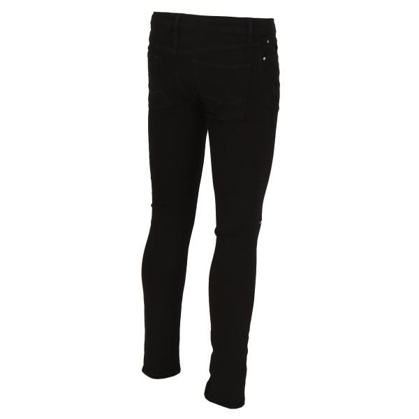 【即納】エイソス ASOS メンズ ジーンズ・デニム ボトムス・パンツ Super Skinny Jeans With Knee Rips Black|fermart|02