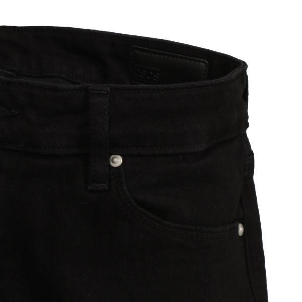 【即納】エイソス ASOS メンズ ジーンズ・デニム ボトムス・パンツ Super Skinny Jeans With Knee Rips Black|fermart|03
