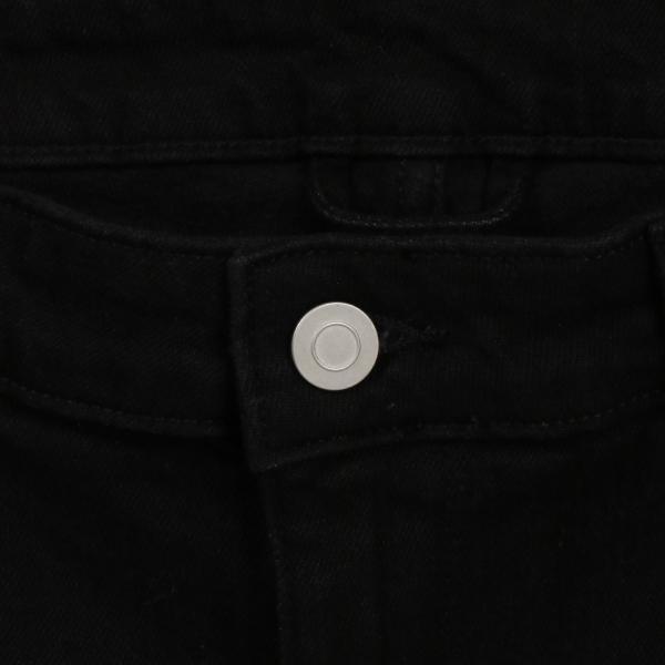 【即納】エイソス ASOS メンズ ジーンズ・デニム ボトムス・パンツ Super Skinny Jeans With Knee Rips Black|fermart|07