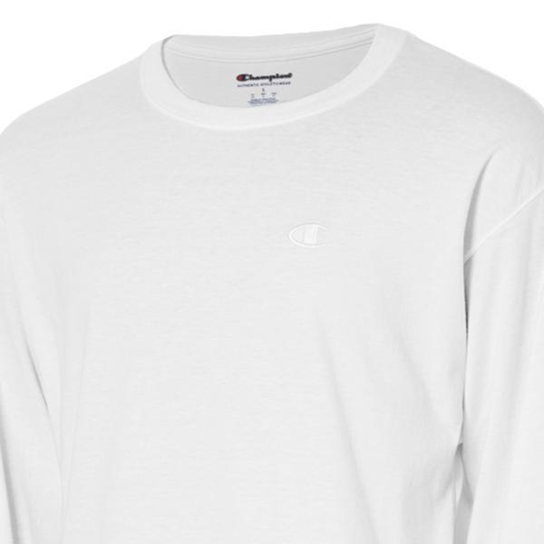 【即納】チャンピオン Champion メンズ 長袖Tシャツ トップス ロンT ロングT ロングスリーブ Classic Jersey LS Tee  WHITE fermart 05