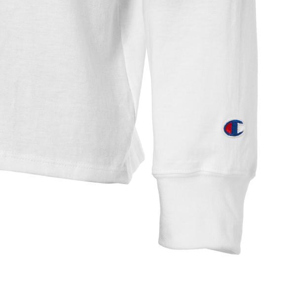 【即納】チャンピオン Champion メンズ 長袖Tシャツ トップス ロンT ロングT ロングスリーブ Classic Jersey LS Tee  WHITE fermart 06