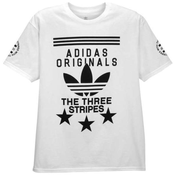 【即納】アディダス adidas Originals メンズ Tシャツ トップス Graphic T-Shirt White/Black|fermart|02