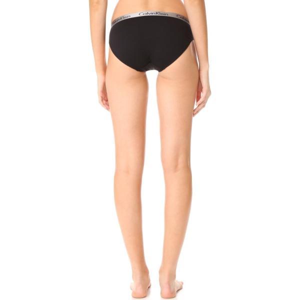 【即納】カルバンクライン Calvin Klein Underwear レディース ショーツのみ インナー・下着 Radiant Cotton Bikini 3 Pack Black/Ocean Floor/Ashford Grey|fermart|03