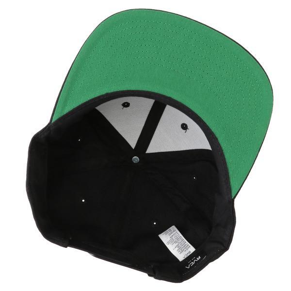 【即納】ルーカ RVCA メンズ キャップ 帽子 Va Patch Snapback BLACK スナップバック ロゴ fermart 06
