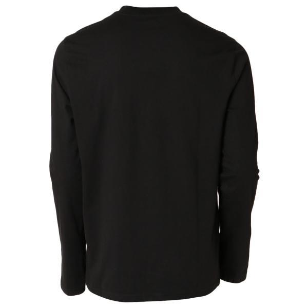 【即納】カルバンクライン Calvin Klein メンズ 長袖Tシャツ トップス BARN PRINT LS TEE BLACK ロンT ロングT ロングスリーブ fermart 02