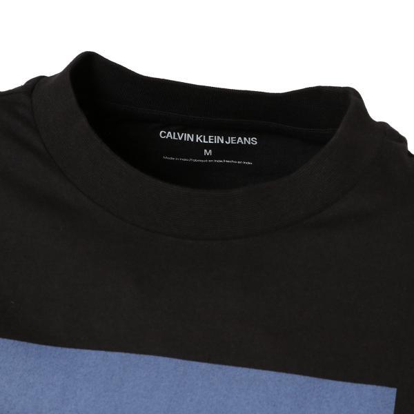 【即納】カルバンクライン Calvin Klein メンズ 長袖Tシャツ トップス BARN PRINT LS TEE BLACK ロンT ロングT ロングスリーブ fermart 04