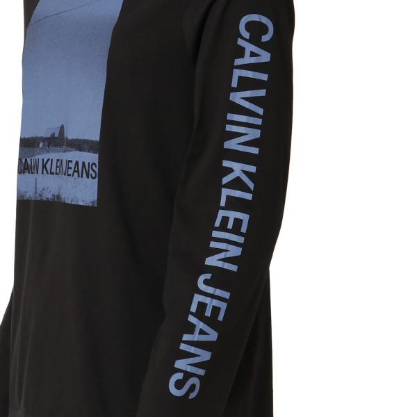 【即納】カルバンクライン Calvin Klein メンズ 長袖Tシャツ トップス BARN PRINT LS TEE BLACK ロンT ロングT ロングスリーブ fermart 05