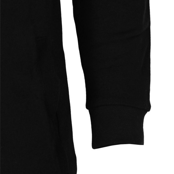 【即納】エイソス ASOS メンズ スウェット・トレーナー トップス Super Longline Hoodie Black Black|fermart|04