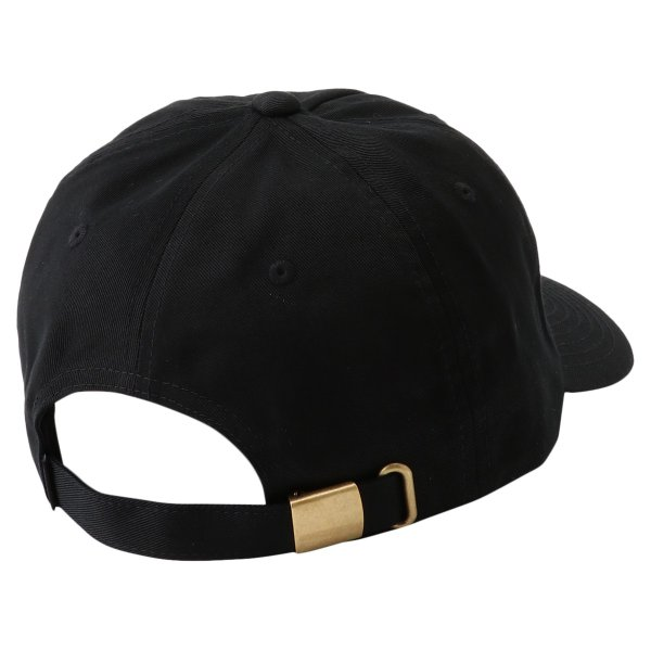 【即納】プリミティブ Primitive ユニセックス キャップ 帽子 CORE MINI NUEVO SCRIPT DAD HAT BLACK/GOLD ダッドハット ダッドキャップ ロゴ|fermart|02