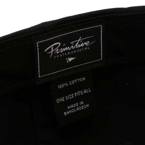 【即納】プリミティブ Primitive ユニセックス キャップ 帽子 CORE MINI NUEVO SCRIPT DAD HAT BLACK/GOLD ダッドハット ダッドキャップ ロゴ|fermart|05