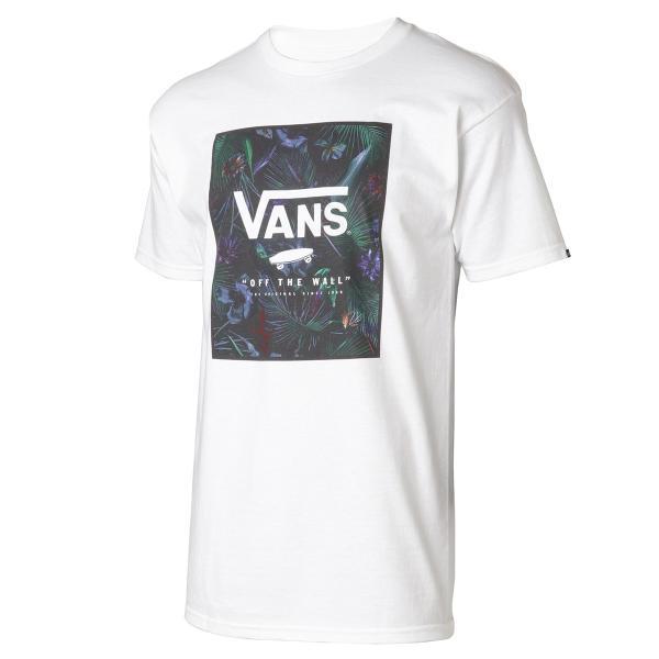 【即納】ヴァンズ VANS メンズ Tシャツ トップス Print Box Neo Jungle Mens T-Shirt WHITE|fermart
