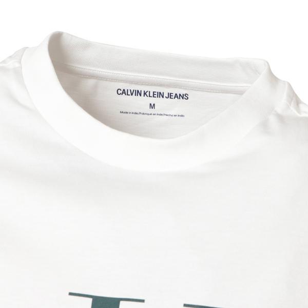 【即納】カルバンクライン Calvin Klein メンズ 長袖Tシャツ トップス LANDSCAPE PRINT LS TEE WHITE ロンT ロングT ロングスリーブ|fermart|04