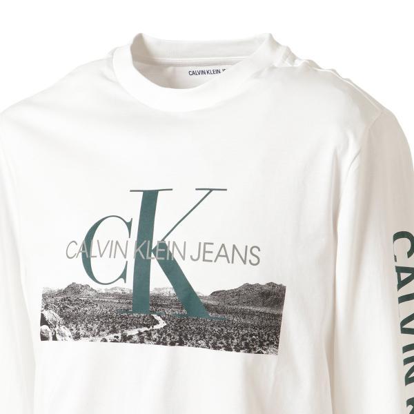 【即納】カルバンクライン Calvin Klein メンズ 長袖Tシャツ トップス LANDSCAPE PRINT LS TEE WHITE ロンT ロングT ロングスリーブ|fermart|07
