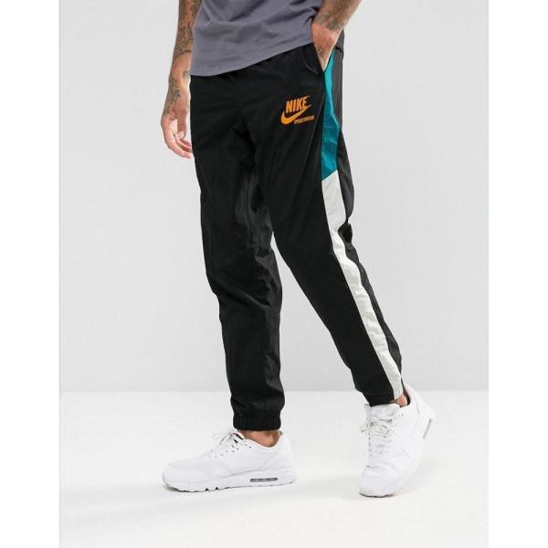 【即納】ナイキ Nike メンズ ジョガーパンツ ボトムス・パンツ Archive Track Jogger In Black 921745-010 Black Black|fermart