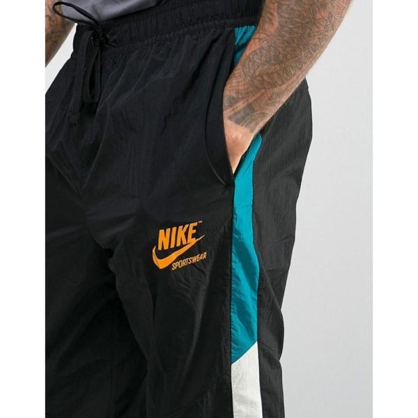 【即納】ナイキ Nike メンズ ジョガーパンツ ボトムス・パンツ Archive Track Jogger In Black 921745-010 Black Black|fermart|03