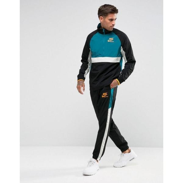【即納】ナイキ Nike メンズ ジョガーパンツ ボトムス・パンツ Archive Track Jogger In Black 921745-010 Black Black|fermart|04