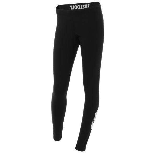 【即納】ナイキ Nike レディース スパッツ・レギンス インナー・下着 Leg A See Leggings In Black With Futura Logo Black/ white Black/ white|fermart