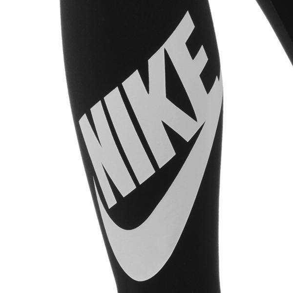 【即納】ナイキ Nike レディース スパッツ・レギンス インナー・下着 Leg A See Leggings In Black With Futura Logo Black/ white Black/ white|fermart|03
