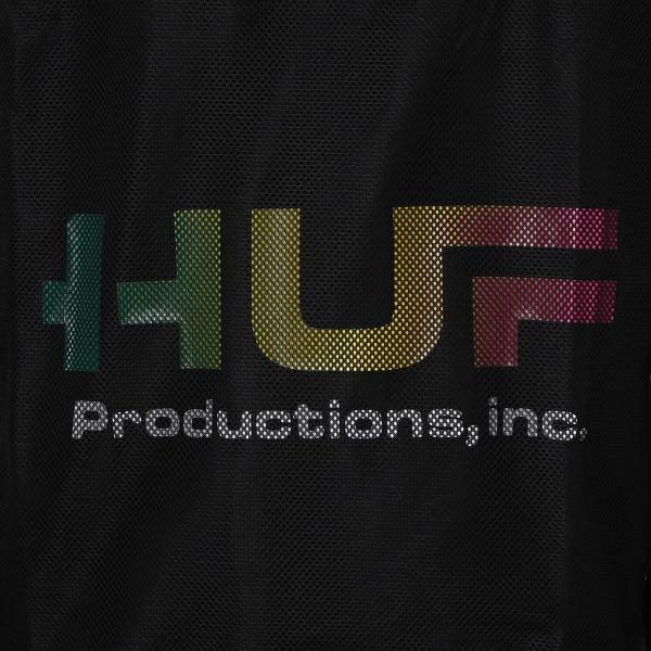 【即納】ハフ HUF メンズ ジャケット アウター アノラック HUF PRODUCTIONS INC ANORAK BLACK fermart 03