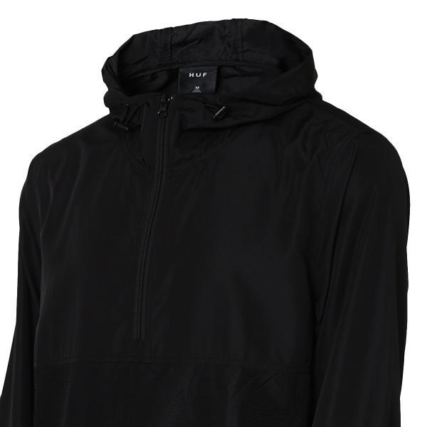 【即納】ハフ HUF メンズ ジャケット アウター アノラック HUF PRODUCTIONS INC ANORAK BLACK fermart 04