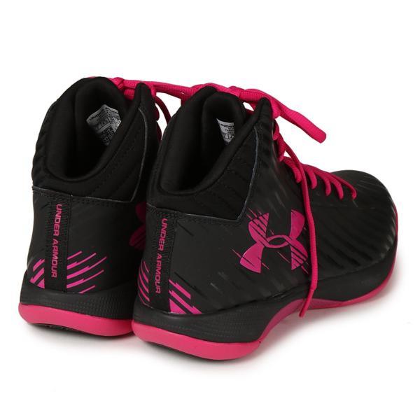【即納】アンダーアーマー レディース シューズ・靴 バスケットボール Jet Basketball Shoes Black/Pink|fermart|02