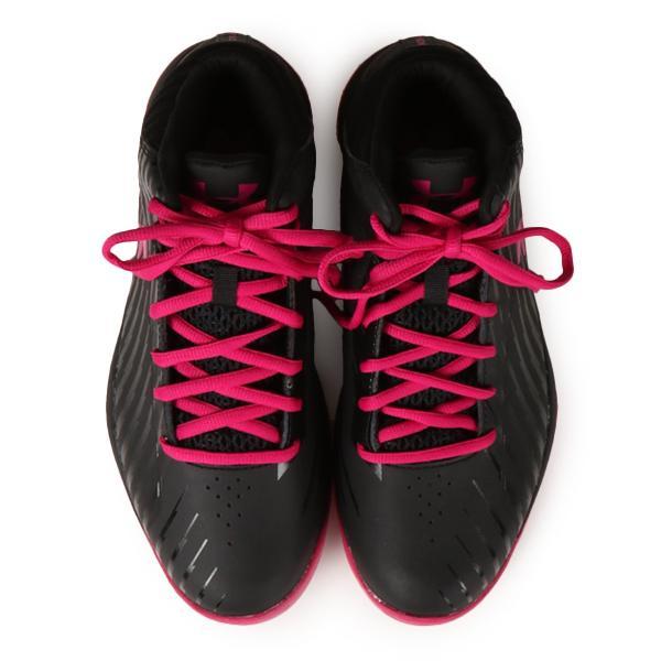 【即納】アンダーアーマー レディース シューズ・靴 バスケットボール Jet Basketball Shoes Black/Pink|fermart|04