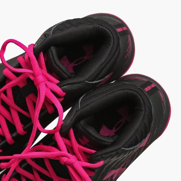 【即納】アンダーアーマー レディース シューズ・靴 バスケットボール Jet Basketball Shoes Black/Pink|fermart|06