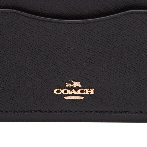 【即納】コーチ COACH レディース 財布 wallet IMBLK|fermart|06