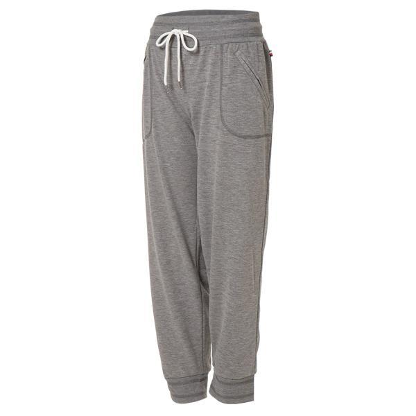 【即納】トミー ヒルフィガー Tommy Hilfiger レディース ジョガーパンツ ボトムス・パンツ Core Jogger Pants HEATHER GREY|fermart