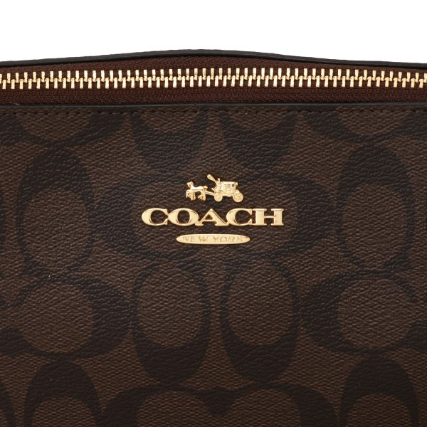 【即納】コーチ Coach レディース トートバッグ バッグ シグニチャー シグネチャー チェーン TOTE BAG IMAA8 IMAA8|fermart|06