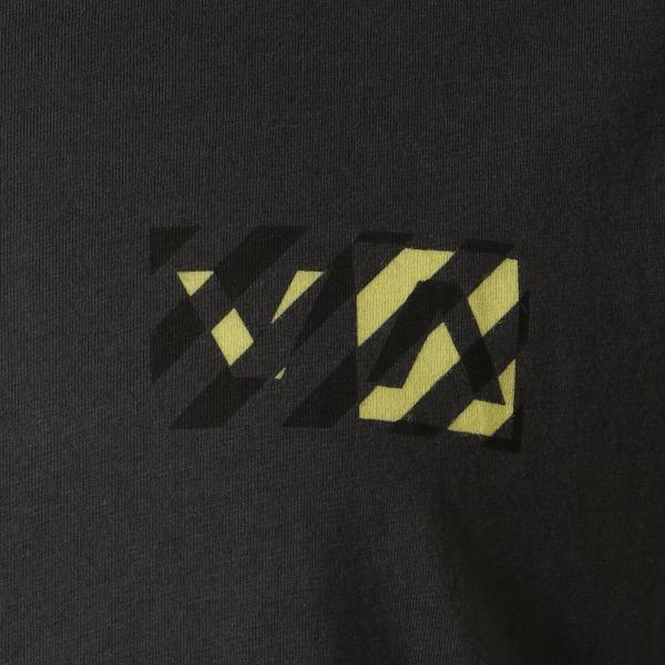 【即納】ルーカ RVCA メンズ 長袖Tシャツ トップス Hazard L/S BLACK ロンT ロングT ロゴ バイアスプリント fermart 03