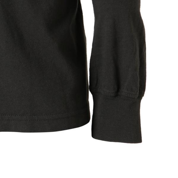 【即納】ルーカ RVCA メンズ 長袖Tシャツ トップス Hazard L/S BLACK ロンT ロングT ロゴ バイアスプリント fermart 08