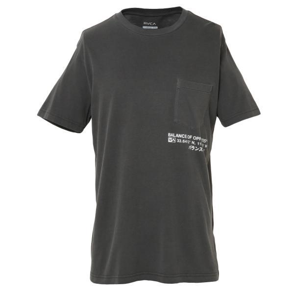 【即納】ルーカ RVCA メンズ Tシャツ トップス TEXT SS PIRATE BLACK|fermart