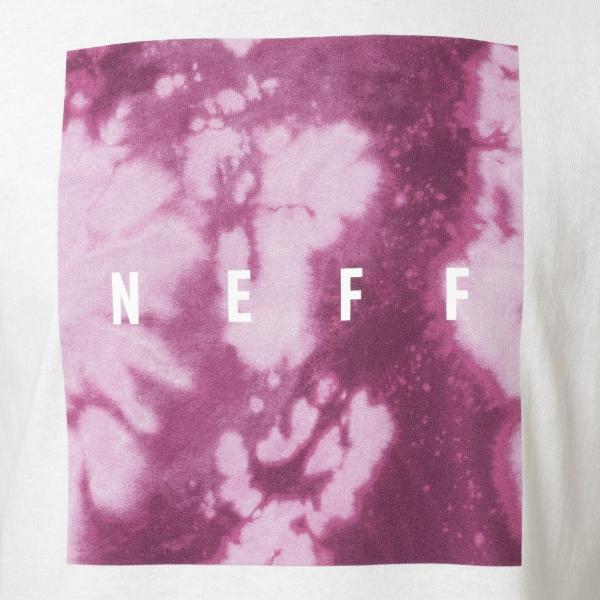 【即納】ネフ NEFF メンズ Tシャツ トップス Quad Tee  White/Purple fermart 03