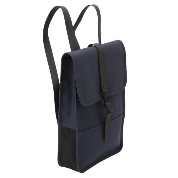 【即納】レインズ RAINS ユニセックス バックパック・リュック バッグ Backpack Mini 1280 Blue デイパック 防水|fermart
