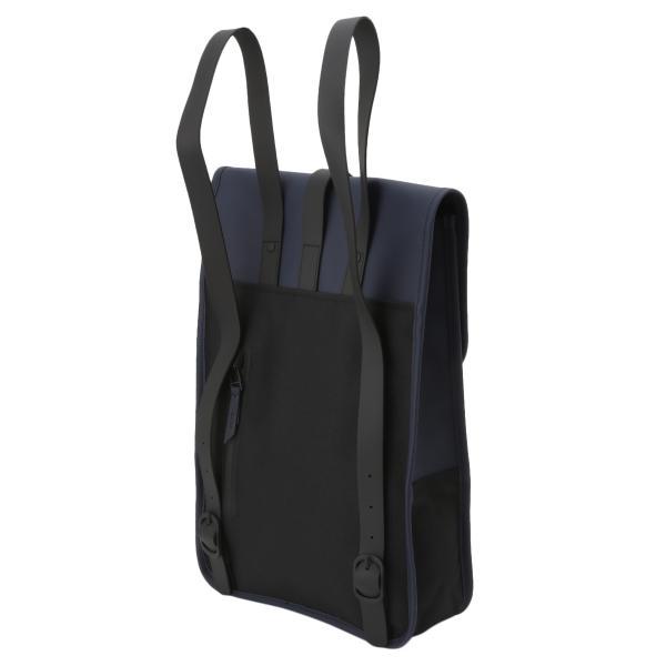 【即納】レインズ RAINS ユニセックス バックパック・リュック バッグ Backpack Mini 1280 Blue デイパック 防水|fermart|02