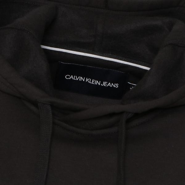 【即納】カルバンクライン Calvin Klein メンズ パーカー トップス NEW ICONIC GRAPHIC HOODIE BLACK フーディー フード|fermart|04