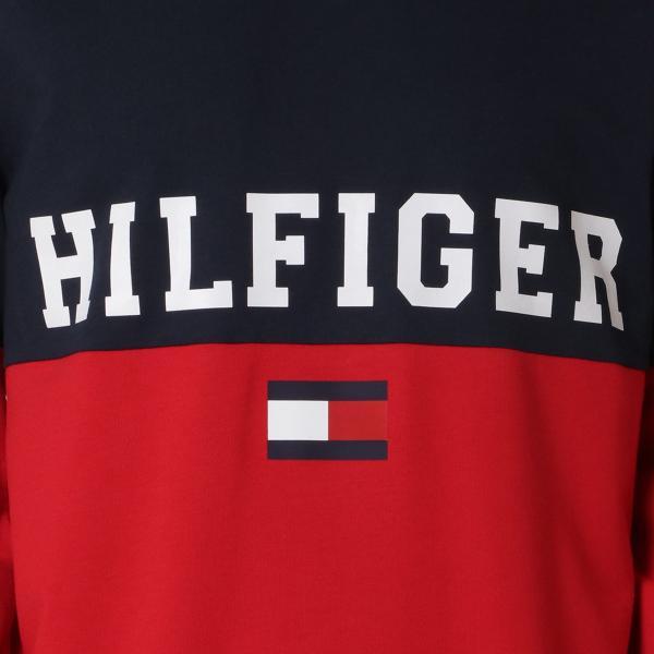 【即納】トミー ヒルフィガー Tommy Hilfiger メンズ スウェット・トレーナー トップス MODERN ESSENTIALS 410 DARK NAVY クルーネック ロゴ|fermart|03