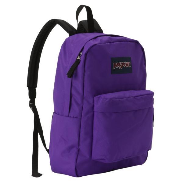 【即納】ジャンスポーツ JANSPORT ユニセックス バックパック・リュック バッグ SUPERBREAK BAG SIGNATURE PURPLE|fermart