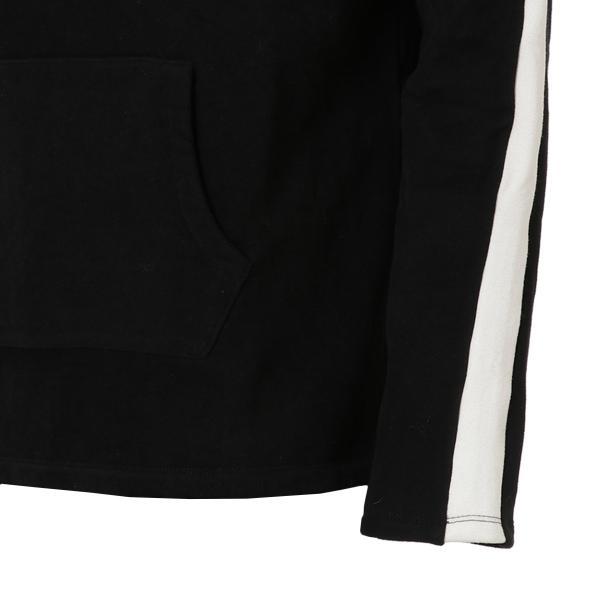 【即納】エンコーデッド ENCODED メンズ パーカー トップス フーディー フード Oversized line hoodie BLACK fermart 04