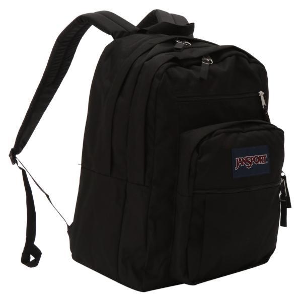 【即納】ジャンスポーツ JANSPORT ユニセックス バックパック・リュック バッグ BIG STUDENT BAG BLACK|fermart
