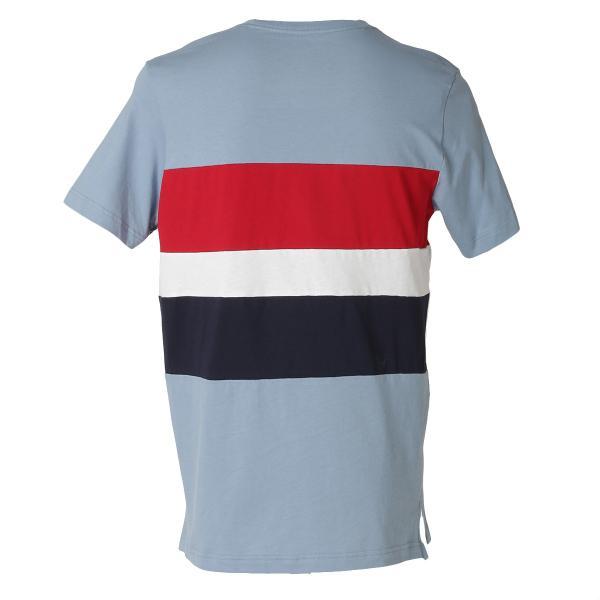 【即納】トミー ヒルフィガー Tommy Hilfiger メンズ Tシャツ トップス S/S CREW TEE DUSTY BLUE ロゴ クルーネック|fermart|02