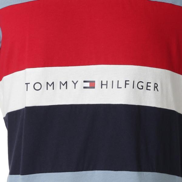 【即納】トミー ヒルフィガー Tommy Hilfiger メンズ Tシャツ トップス S/S CREW TEE DUSTY BLUE ロゴ クルーネック|fermart|03